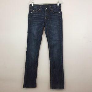 J. Crew Matchstick Jeans Women's Size 27 Tall Roll